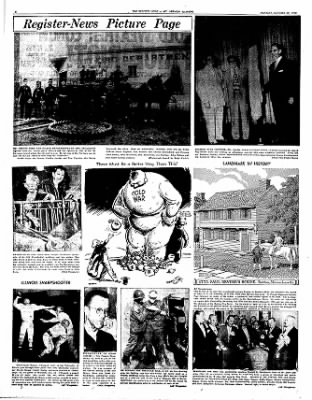 Mt. Vernon Register-News from Mt Vernon, Illinois on October 20, 1952 · Page 6