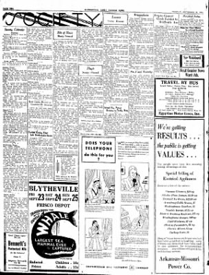 The Courier News from Blytheville, Arkansas on September 20, 1932 · Page 2