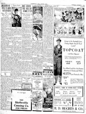 The Courier News from Blytheville, Arkansas on November 1, 1934 · Page 6