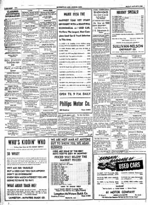 The Courier News from Blytheville, Arkansas on January 6, 1956 · Page 8