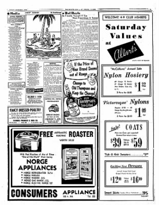 Mt. Vernon Register-News from Mt Vernon, Illinois on November 7, 1952 · Page 3