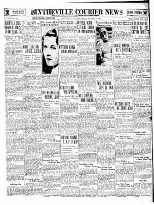 The Courier News from Blytheville, Arkansas on November 2, 1934 · Page 1