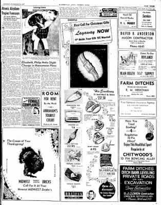 The Courier News from Blytheville, Arkansas on November 24, 1947 · Page 3