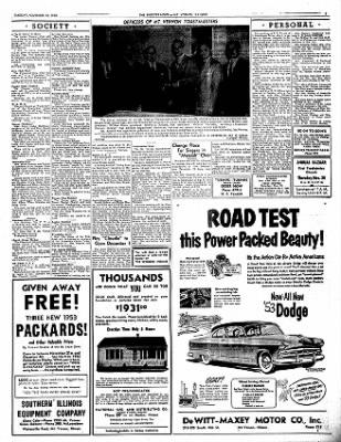 Mt. Vernon Register-News from Mt Vernon, Illinois on November 18, 1952 · Page 7