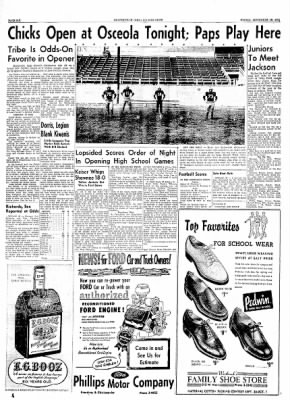 The Courier News from Blytheville, Arkansas on September 10, 1954 · Page 6