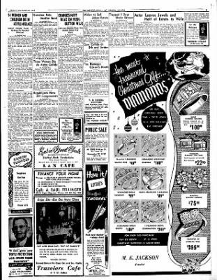 Mt. Vernon Register-News from Mt Vernon, Illinois on November 28, 1952 · Page 7