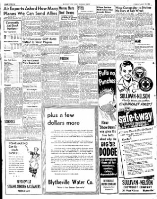 The Courier News from Blytheville, Arkansas on May 13, 1952 · Page 12