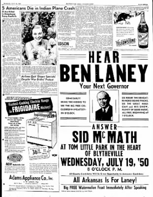 The Courier News from Blytheville, Arkansas on July 18, 1950 · Page 7