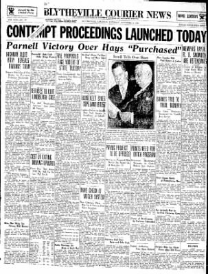 The Courier News from Blytheville, Arkansas on November 3, 1934 · Page 1