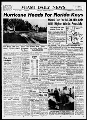 The Miami News from Miami, Florida on October 18, 1944 · 1