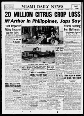 The Miami News from Miami, Florida on October 19, 1944 · 1