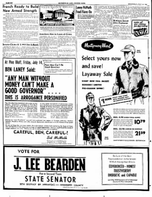 The Courier News from Blytheville, Arkansas on July 19, 1950 · Page 6