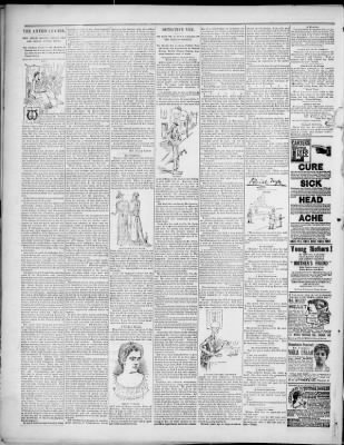 The Marion Star from Marion, Ohio on September 3, 1892 · 6