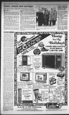 the odessa american from odessa texas on december 23 1988 4 odessa american newspapers com