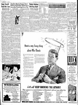 The Courier News from Blytheville, Arkansas on April 8, 1944 · Page 6