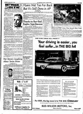 The Courier News from Blytheville, Arkansas on January 10, 1956 · Page 9