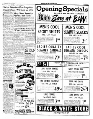 The Courier News from Blytheville, Arkansas on July 20, 1950 · Page 5