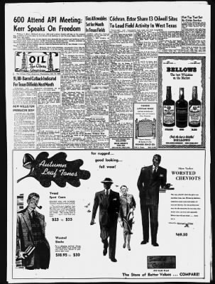 The Odessa American from Odessa, Texas on October 10, 1951 · 4