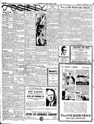 The Courier News from Blytheville, Arkansas on September 27, 1932 · Page 2