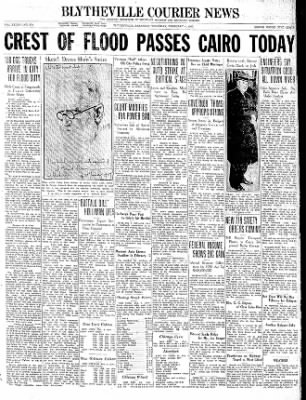 The Courier News from Blytheville, Arkansas on February 4, 1937 · Page 1