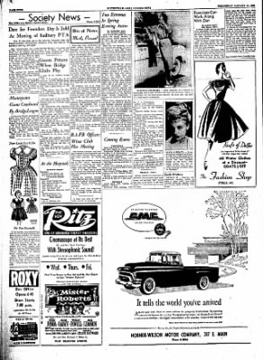 The Courier News from Blytheville, Arkansas on January 11, 1956 · Page 4