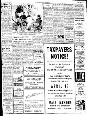 The Courier News from Blytheville, Arkansas on April 11, 1944 · Page 5