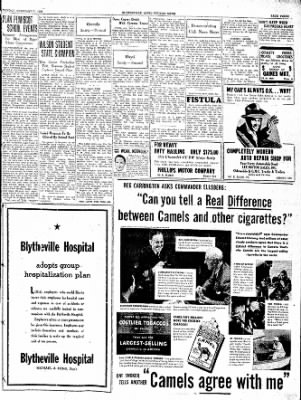 The Courier News from Blytheville, Arkansas on February 7, 1938 · Page 3