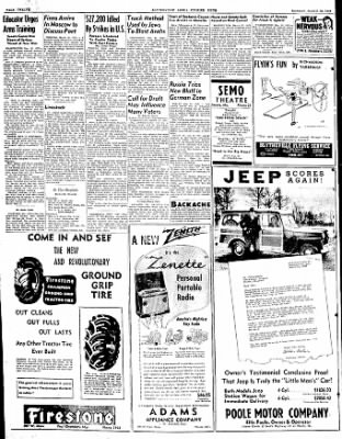 The Courier News from Blytheville, Arkansas on March 22, 1948 · Page 7