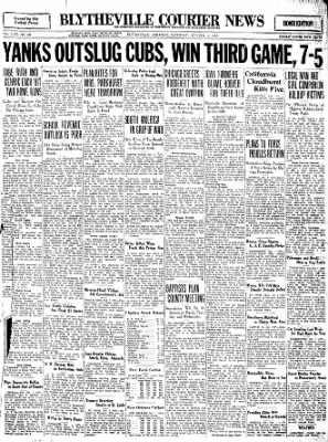 The Courier News from Blytheville, Arkansas on October 1, 1932 · Page 1