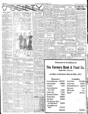 The Courier News from Blytheville, Arkansas on March 30, 1931 · Page 2