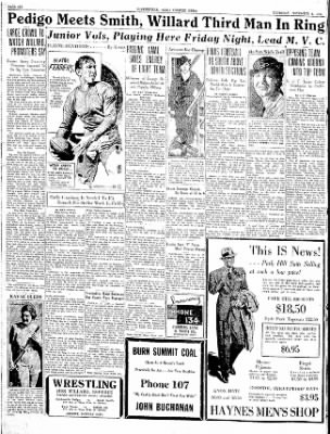 The Courier News from Blytheville, Arkansas on November 8, 1934 · Page 5