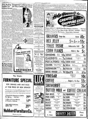 The Courier News from Blytheville, Arkansas on April 13, 1944 · Page 8