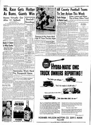 The Courier News from Blytheville, Arkansas on September 15, 1954 · Page 10