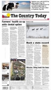 Sample The Country Today front page