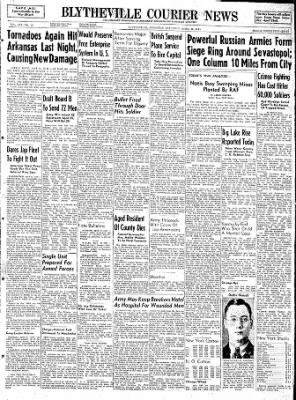 The Courier News from Blytheville, Arkansas on April 15, 1944 · Page 1