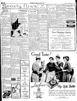 The Courier News from Blytheville, Arkansas on November 9, 1934 · Page 2