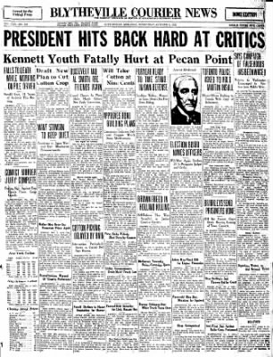 The Courier News from Blytheville, Arkansas on October 5, 1932 · Page 1
