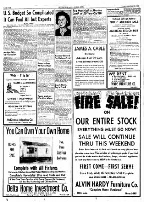 The Courier News from Blytheville, Arkansas on January 13, 1956 · Page 4