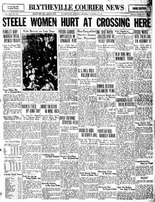 The Courier News from Blytheville, Arkansas on October 6, 1932 · Page 1