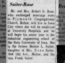 Suiter/Rose Wedding