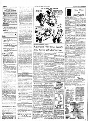 The Courier News from Blytheville, Arkansas on September 16, 1954 · Page 6