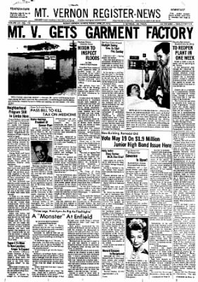 Mt. Vernon Register-News from Mt Vernon, Illinois on April 27, 1973 · Page 1