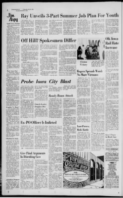Quad City Times From Davenport Iowa On May 28 1969 2
