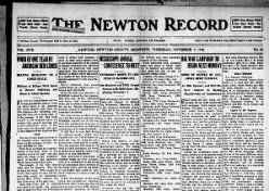 The Newton Record
