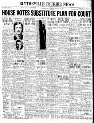 The Courier News from Blytheville, Arkansas on February 10, 1937 · Page 1