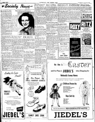 The Courier News from Blytheville, Arkansas on March 25, 1948 · Page 4