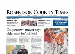 Robertson County Times