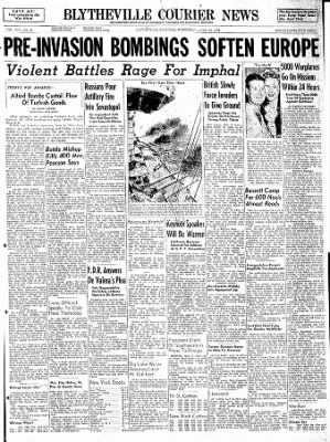 The Courier News from Blytheville, Arkansas on April 19, 1944 · Page 1