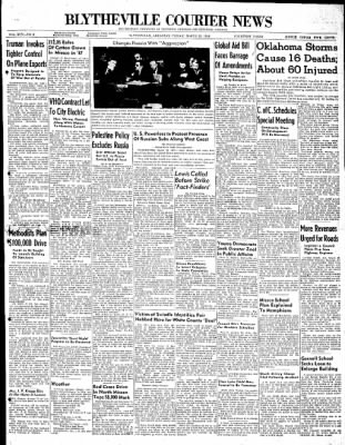 The Courier News from Blytheville, Arkansas on March 26, 1948 · Page 1