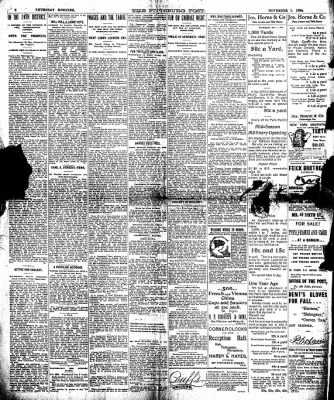 The Pittsburgh Post from Pittsburgh, Pennsylvania on November 1, 1894 · Page 2